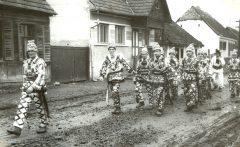 Altknecht, Ochsen und Pflug 1971