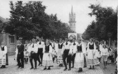 Jugendfestival des Raions Bistritz 1958